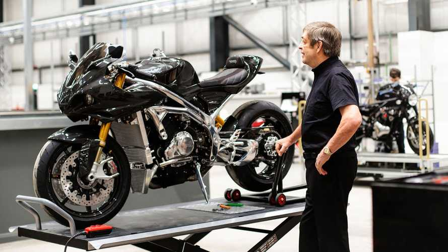 Norton Opens New Factory With Potential To Produce 8,000 Units