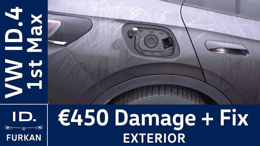 UPDATE: Fixing Broken Charge Port Door On Volkswagen ID.4 Costs €450