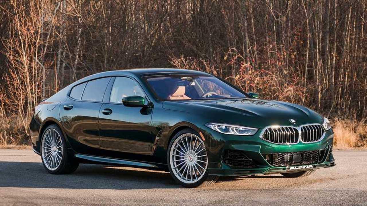 У BMW M8 Gran Coupe появилась альтернатива от Alpina