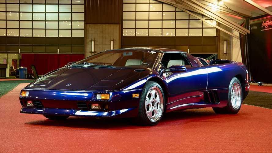 Mintha egy poszterről lépett volna le ez az 1997-es Lamborghini Diablo VT Roadster