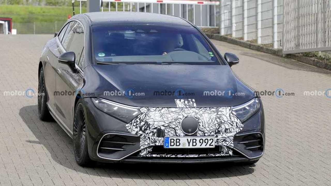 Mercedes-AMG EQS Spy Shots