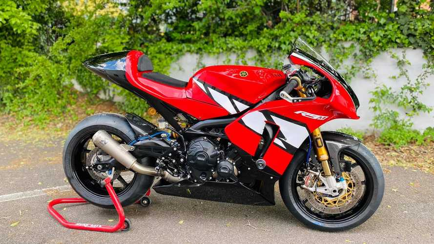 Italian Yamaha Dealer Creates R9 Sportbike Based On Tracer 900 GT