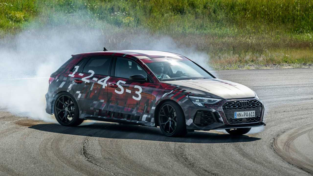 2022 Audi RS3 Sportback Drifting
