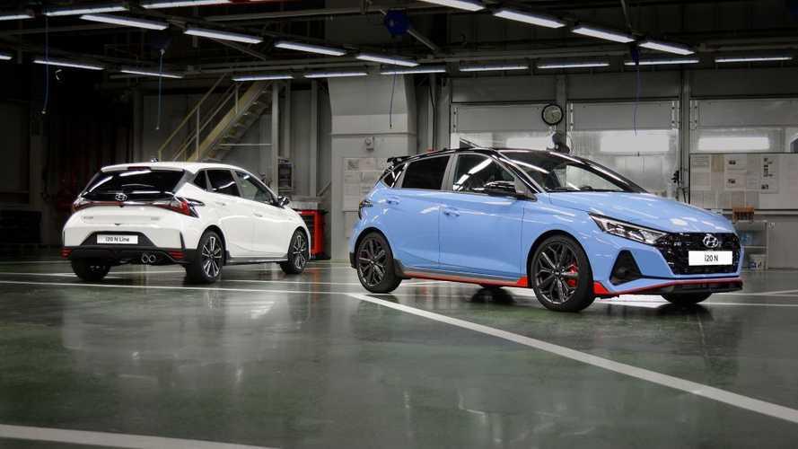 Hyundai empieza la producción de los nuevos i20 N e i20 N Line