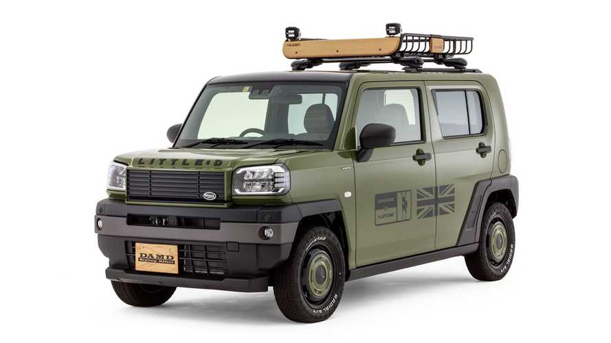 Daihatsu Taft Disulap Menjadi Land Rover Mungil oleh DAMD