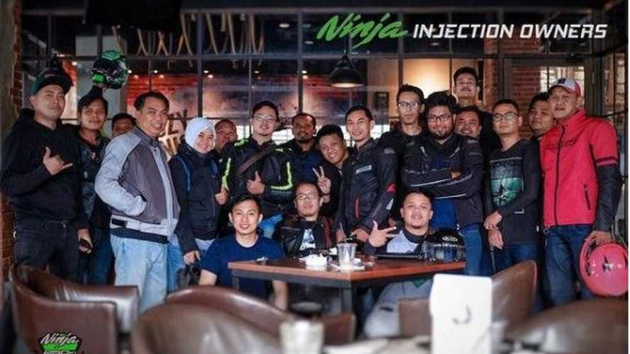 Komunitas Ninja Injection Owners dan Honda ADV Indonesia
