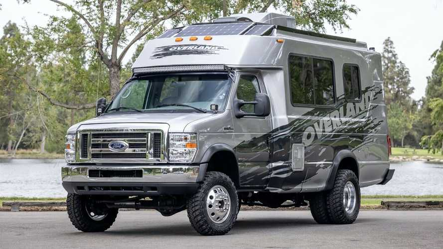 This Overland RV Started Life As An Off-Road Fire Rescue Vehicle