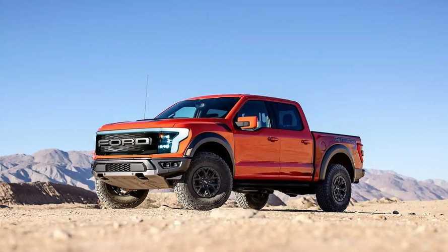 Ford F-150 Raptor 100% elétrica tem visual especulado em projeção