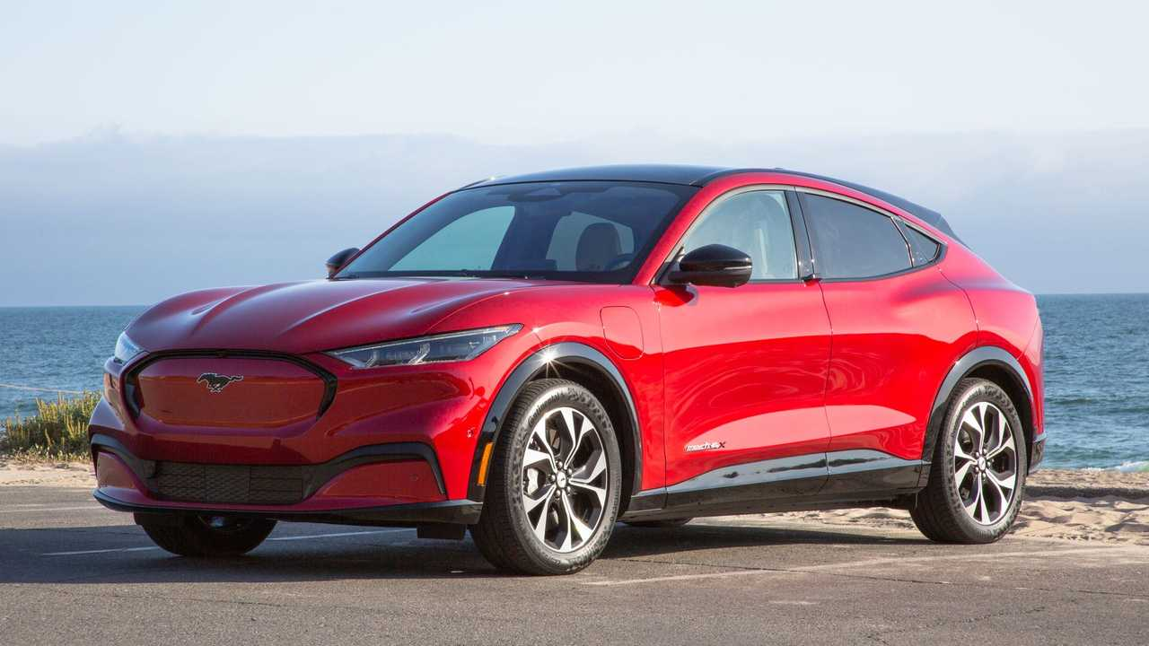 2021 Ford Mustang Mach-E Front Quarter