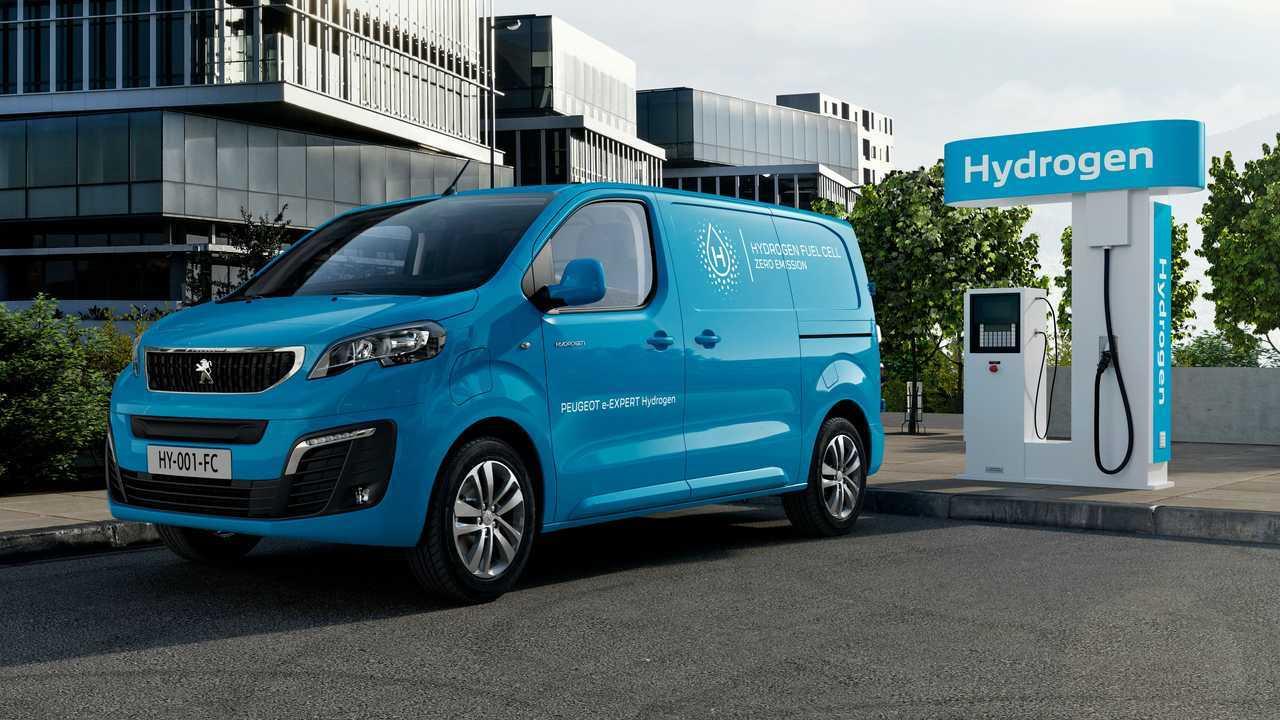 Peugeot e-Expert Hydrogen: Transporter mit Wasserstoff-Brennstoffzelle