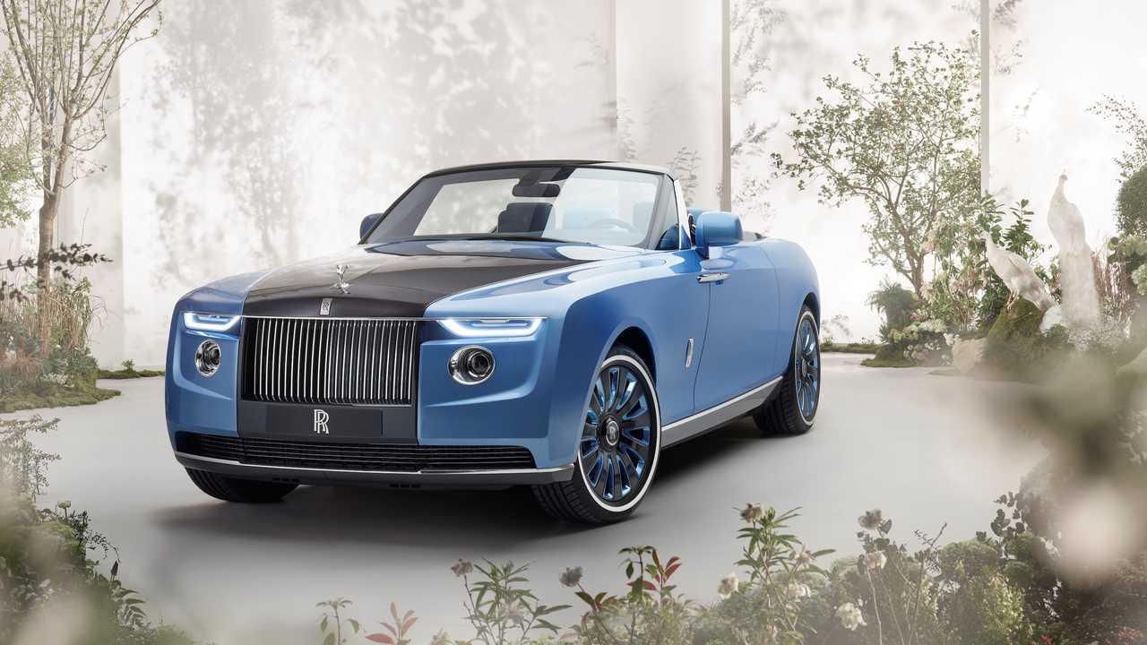 Rolls-Royce csónak farka