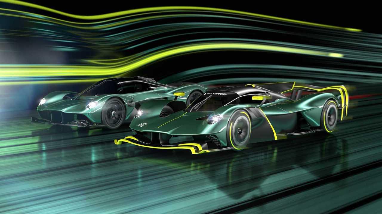 Aston Martin Valkyrie AMR Pro для трека