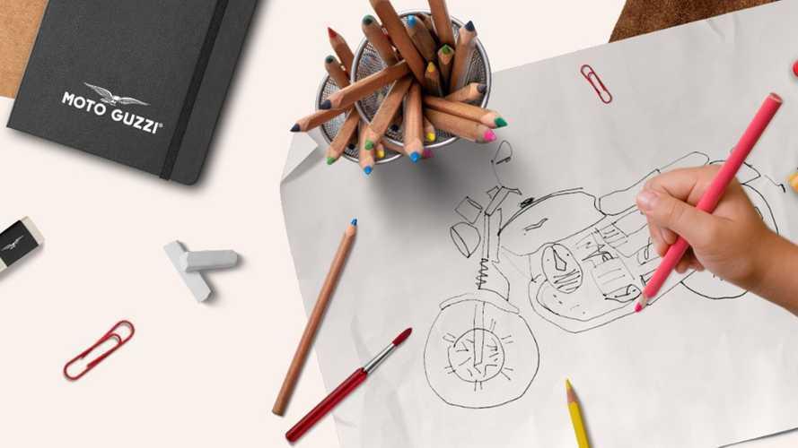 Moto Guzzi Holds Kids Design Contest To Inspire Brand's Future