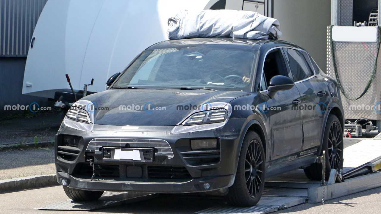 Porsche Macan EV Prototipi Casus Fotoğraflar