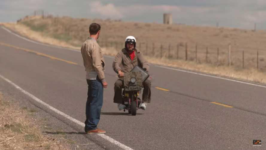 Zack and Ari Recreate Dumb & Dumber Mini Bike Trip