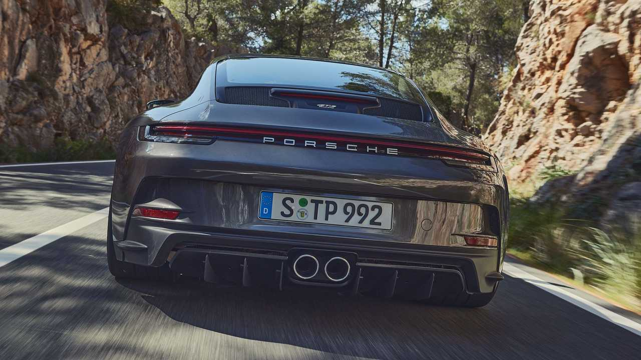 2022 Porsche 911 GT3 Touring Esterno