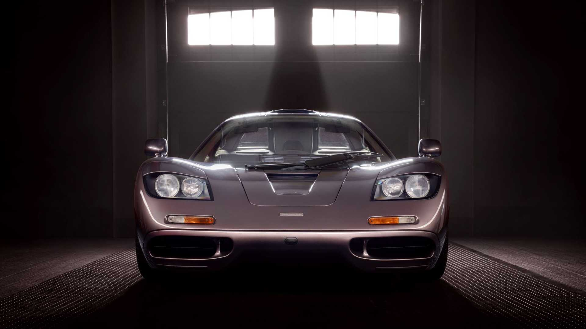 1995 McLaren F1 Gooding And Company Auction 2020 Nose
