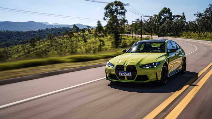 BMW M3 Competition Track 2021
