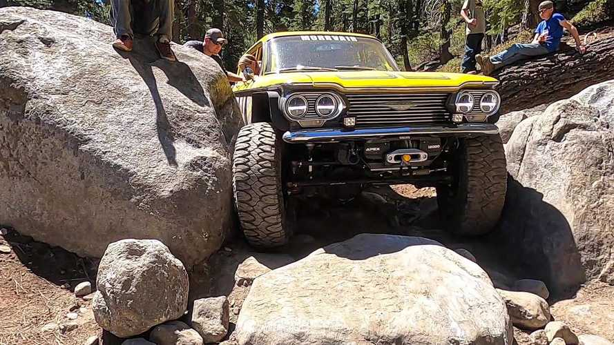 Watch A Corvair Off-Roader Tackle The Gruelling Rubicon Trail