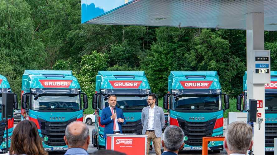 Iveco E Gruber insieme per il trasporto carbon free