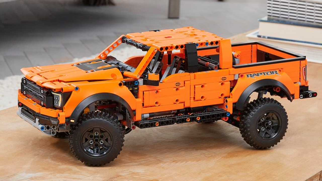 Nuevo kit Lego Technic Ford F-150 Raptor