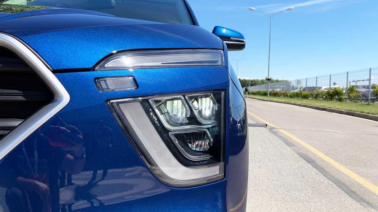 Hyundai Creta второго поколения для России, LED-фары