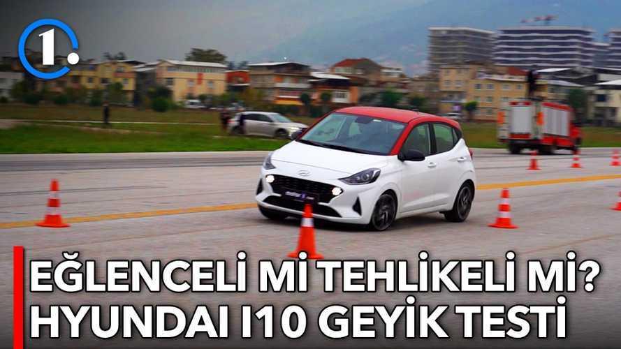 2020 Hyundai i10 1.2 MPI | Geyik Testi