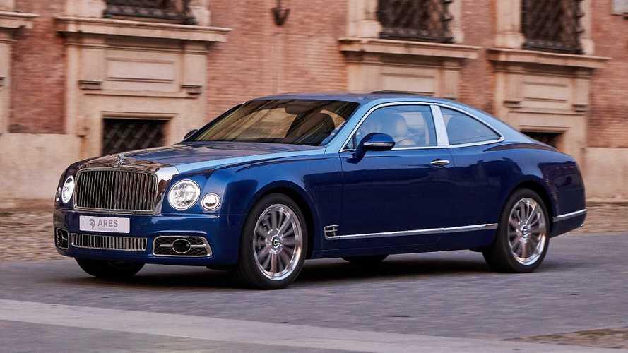 La Bentley Mulsanne diventa una Coupé fatta a mano da Ares Design