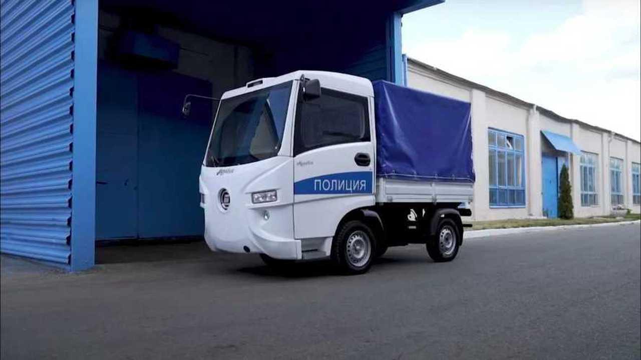 Полицейский электромобиль Муравей
