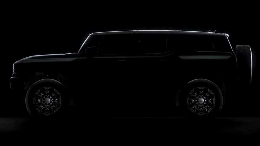 GMC Hummer EV SUV Teased As Second 'Super Truck'