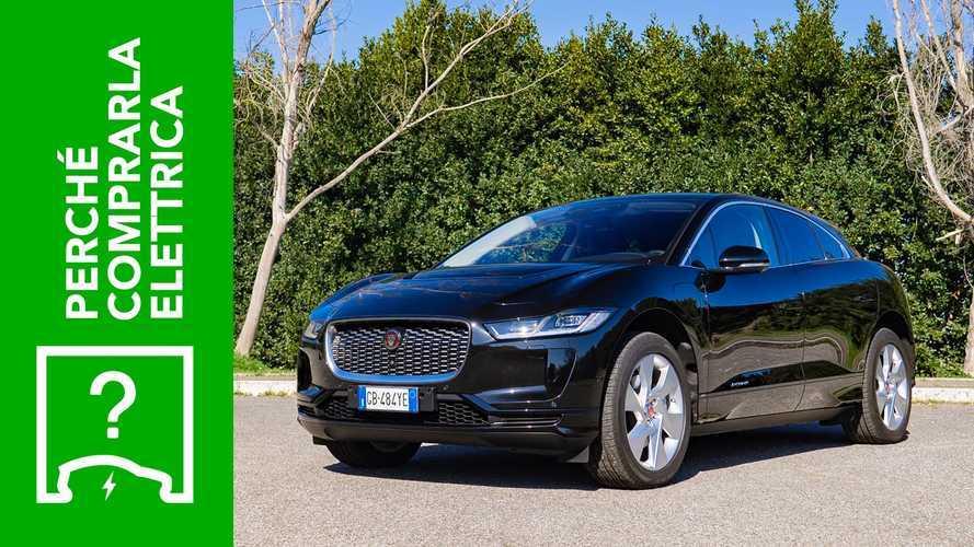 Jaguar I-Pace (2020), perché comprarla elettrica e perché no