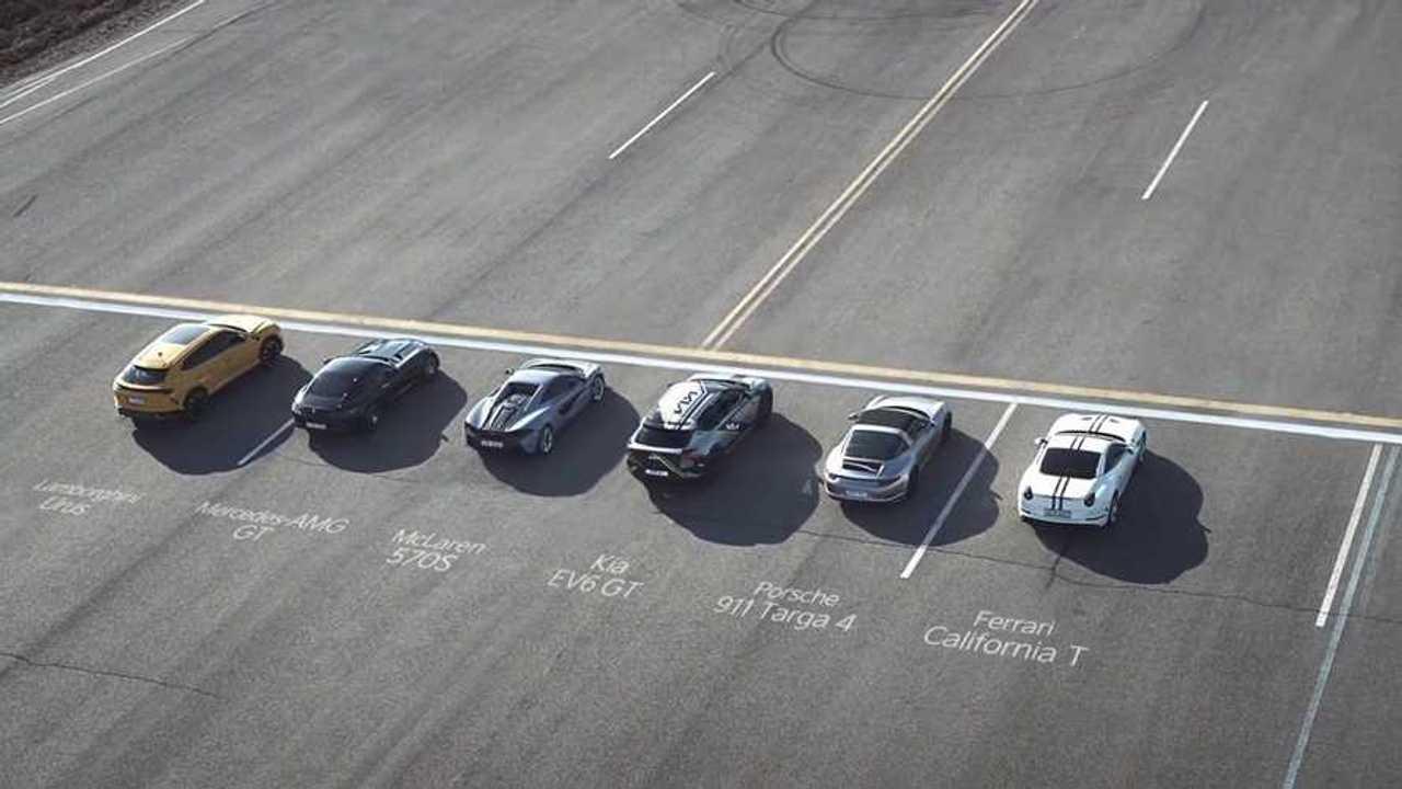 Kia EV6 GT Drag Race