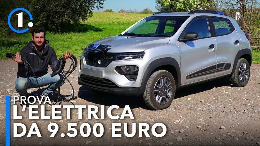 Dacia Spring, la prova dell'elettrica che costa 9.500 euro
