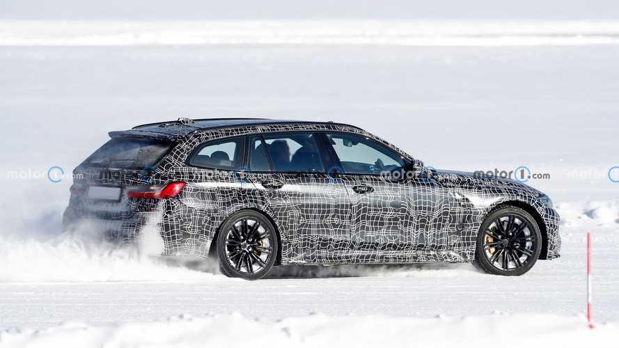 La future BMW M3 Touring se prépare sous la neige