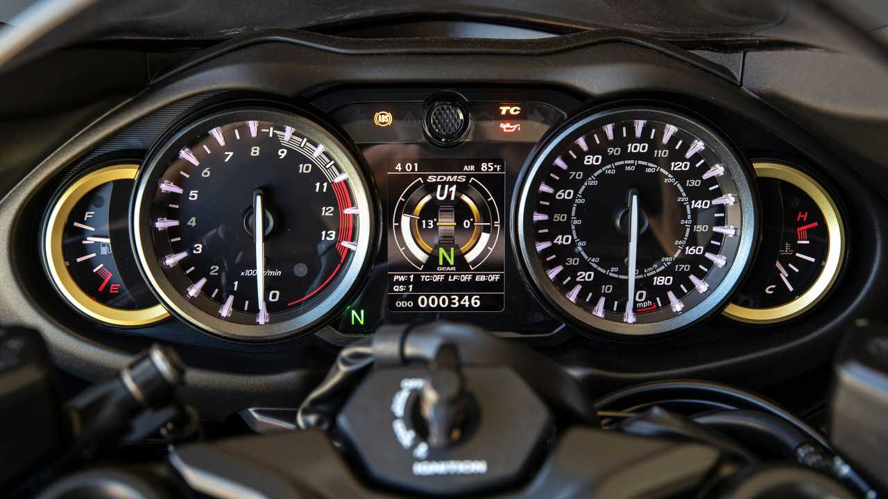2022 Suzuki Hayabusa IP Detail