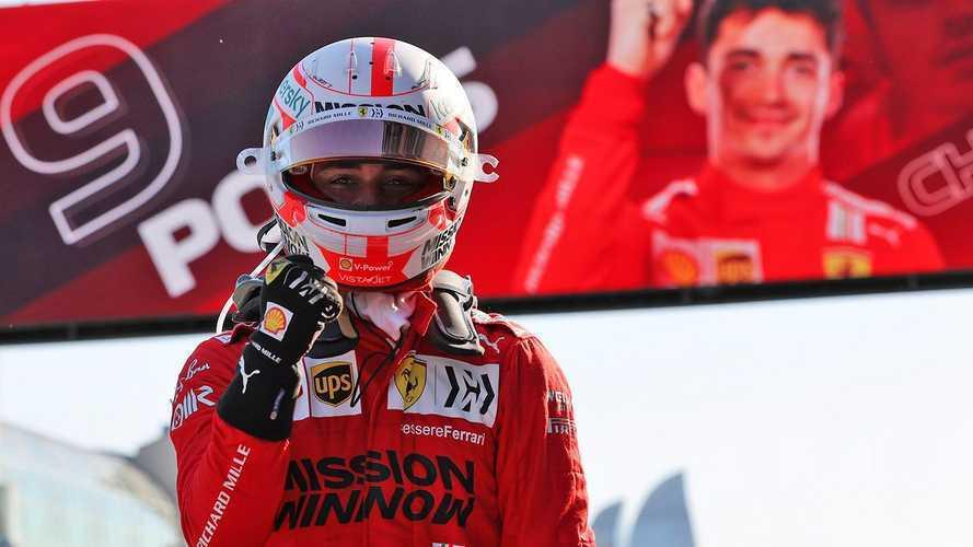 2021 Azerbaycan GP sıralama: Leclerc yine pole'de!