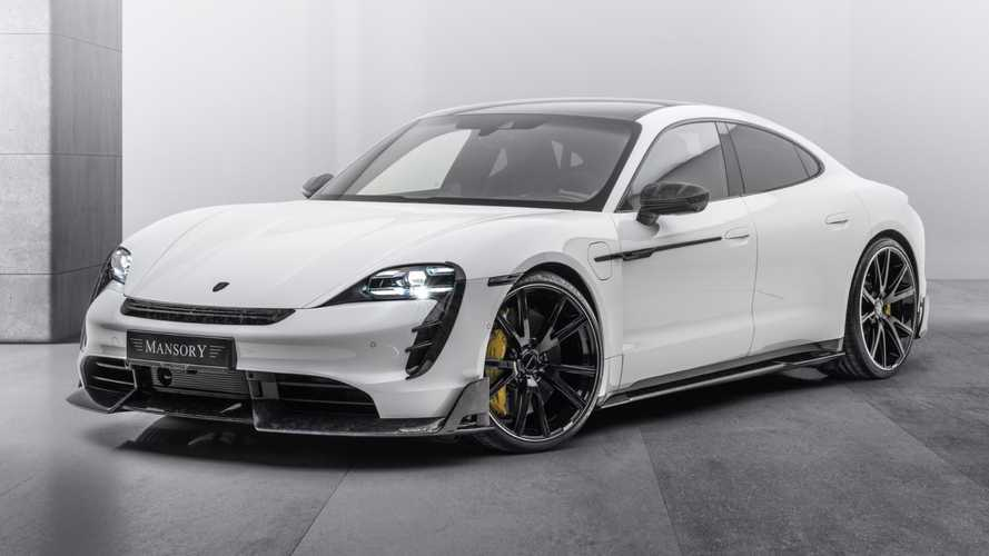 Mansory Gives Porsche Taycan A Surprisingly Modest Makeover