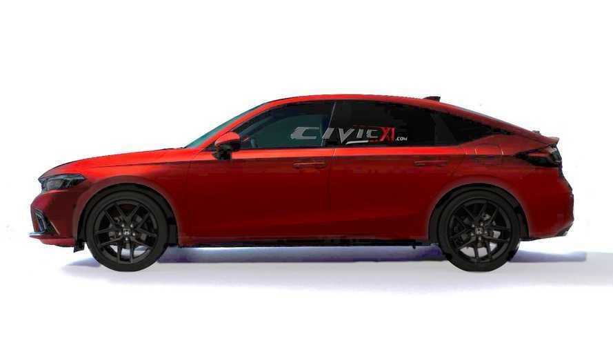 Honda Civic Hatchback 2022 - Projeções