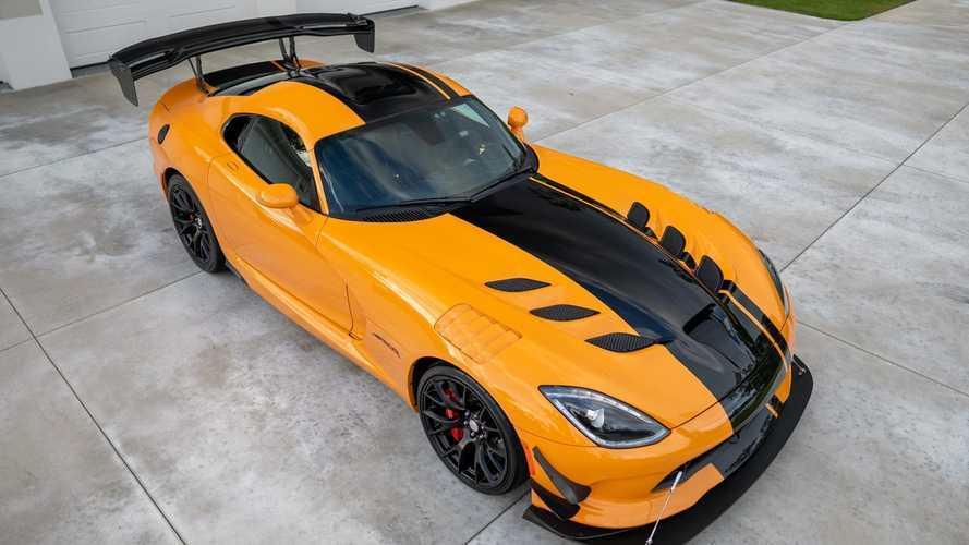 L'une des dernières Dodge Viper ACR est en vente