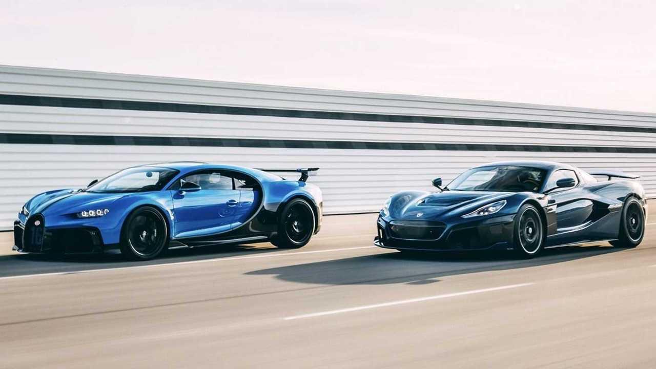 Rimac и Bugatti