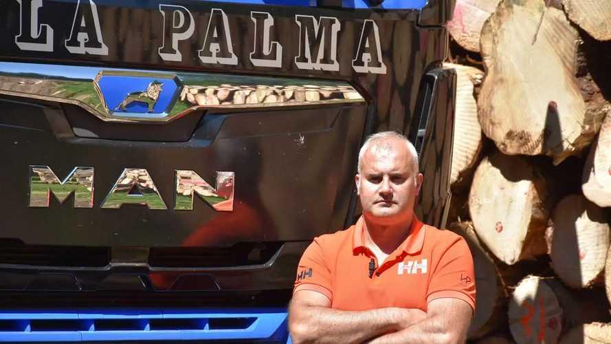 Il MAN TGS 6x4 di Daniele dalla Palma