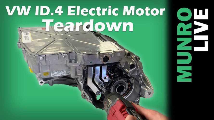 Sandy Munro Examines Volkswagen ID.4's Electric Motor