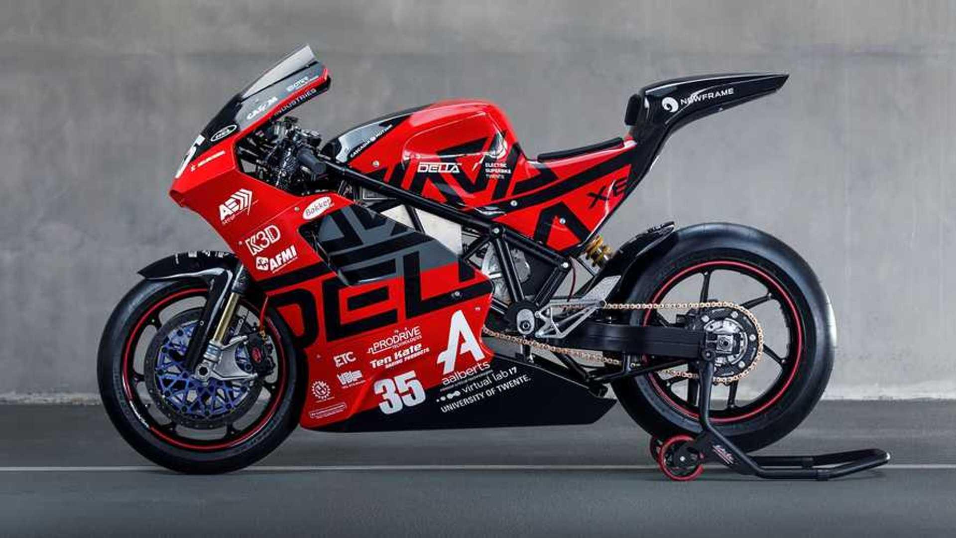 Dutch university team announces new electric superbike - Autobala