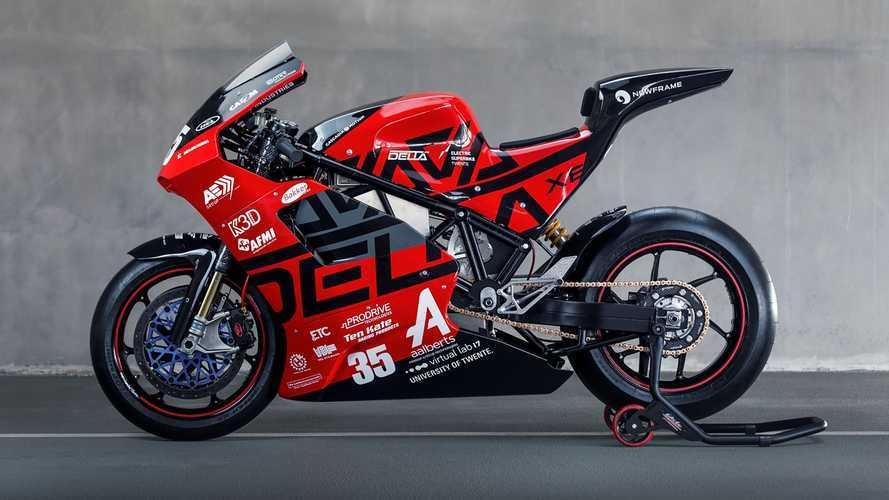 Dutch University Team Reveals New Electric Superbike