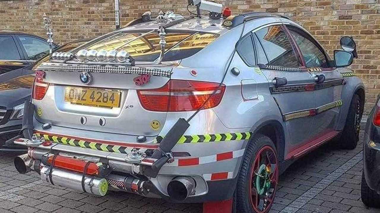 Страшный тюнинг BMW X6