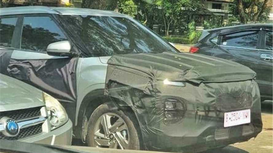 Novo Hyundai Creta - Flagra Facelift