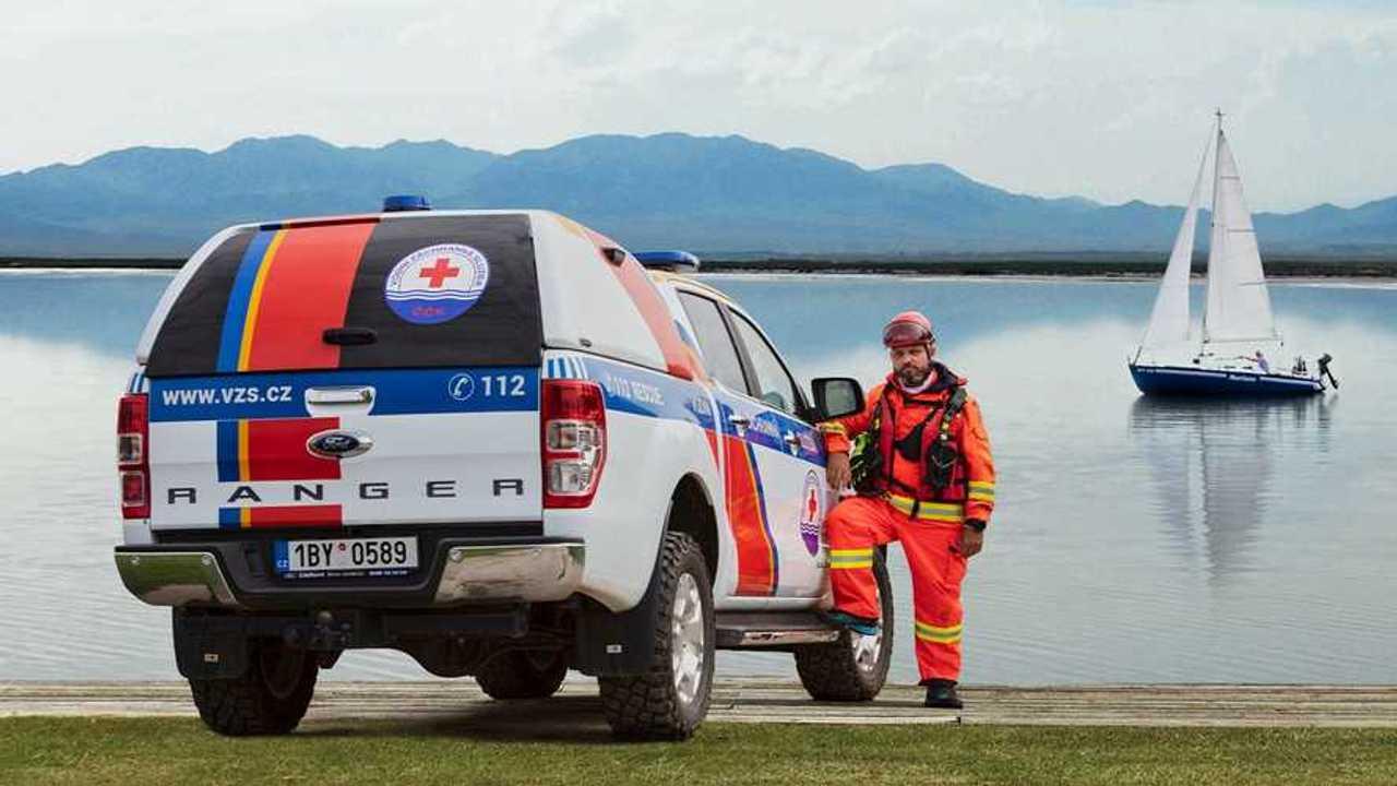 Ford LifeSavers - Il Ford Ranger del soccorso nautico in Repubblica Ceca