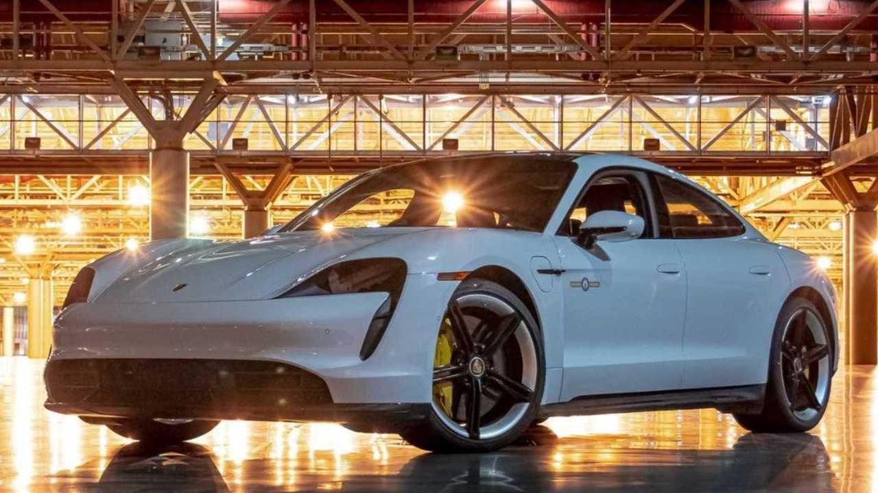 7. Porsche Taycan Turbo S