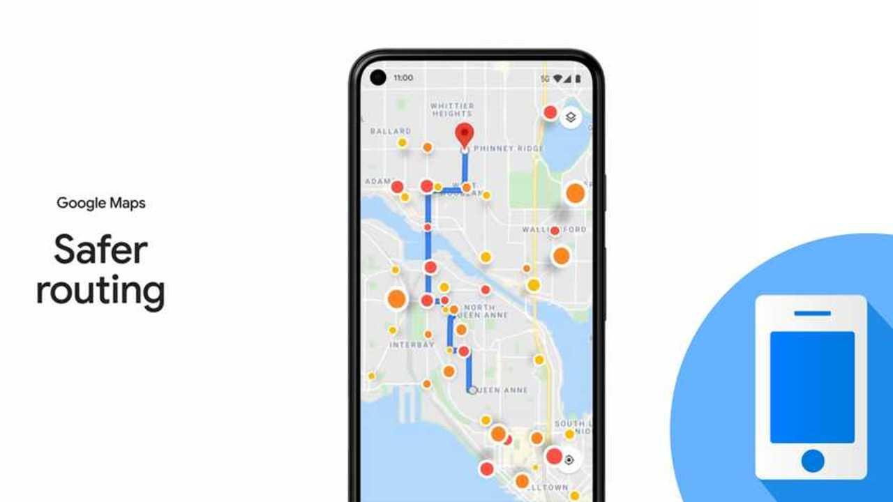Le novità di Google Maps per i viaggi in auto