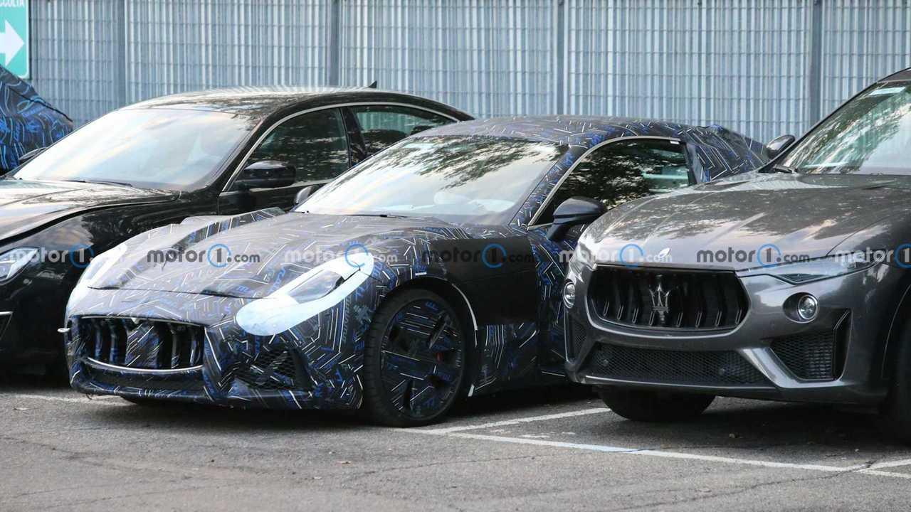 Photo espion Maserati GranTurismo (2022)